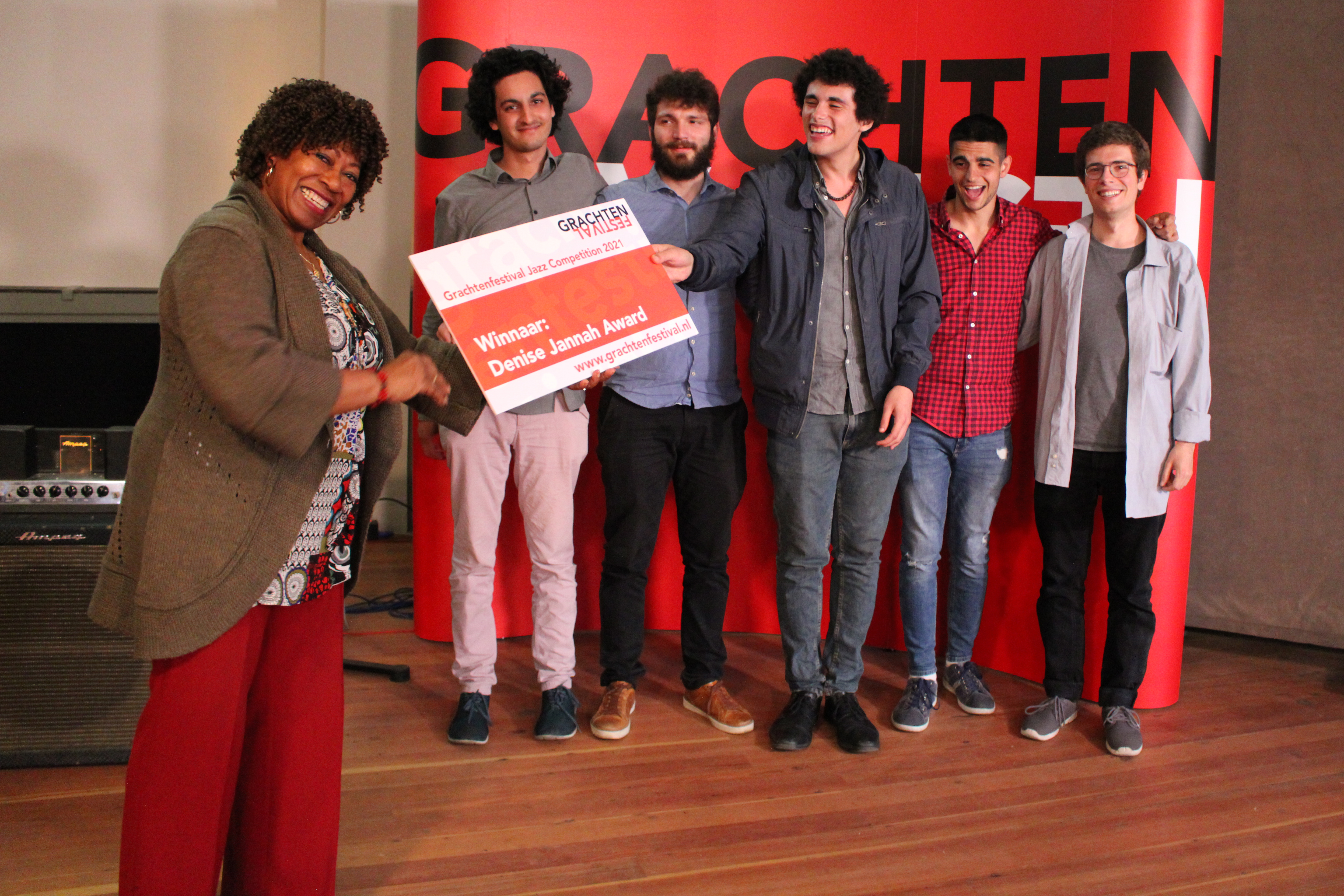 Winnaar Vakjuryprijs & Denise Jennah Award Grachtenfestival Jazz Competition 2021 © Lianne Creemers