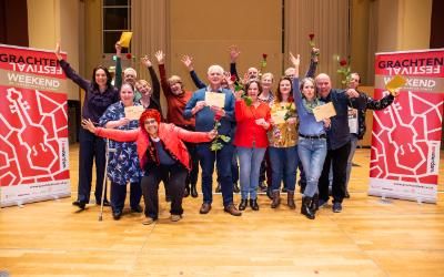 Twelve Amsterdam districts win concert during Grachtenfestival 2020